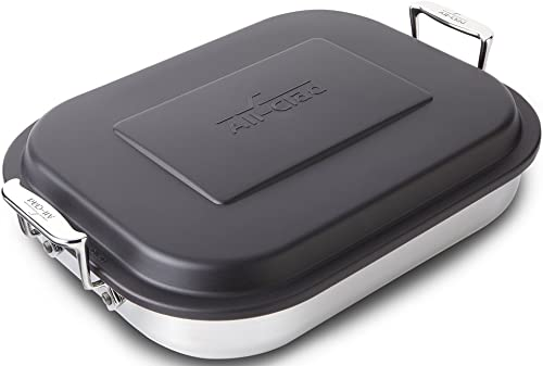 All-Clad 59946 Stainless Steel Lasagna Pan with Lid Specialty Cookware