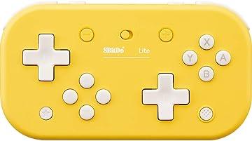 Amazon | 8BitDo Lite Bluetooth Gamepad Yellow Edition - Switch | ゲーム