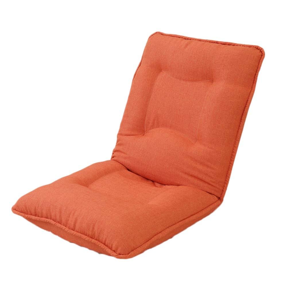 Qing MEI- Lazy Sofa Mit Fuß Stehender, Gepolsterter, Fauler Stuhl Bettklapp-Computerstuhl 6-Fach Verstellbarer Balkon, Mittagspause Bequemer Sessel - Traglast 150kg (Farbe   F) D