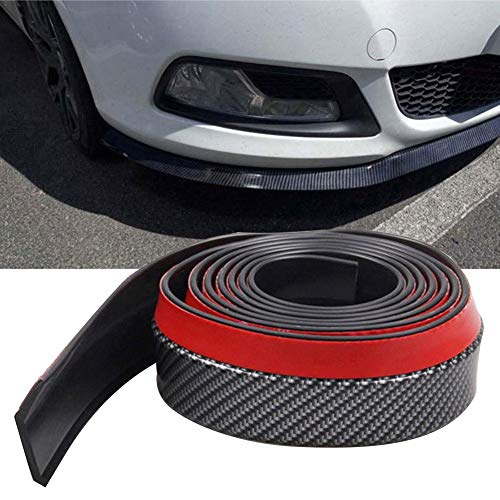 Chengstore Car Carbon Fiber Anti-Collision Strip Anti-Scratch Decoration