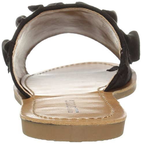 Call nubuck Sandal Spring Black Nilian It Slide Women's AqnfH7zpA