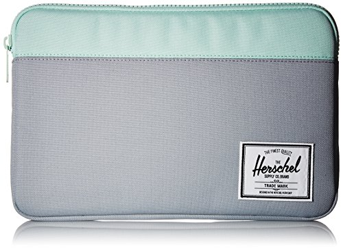 Herschel Supply Co. Unisex-Adult's Anchor Sleeve for 12 MacBook, quarry/yucca, One Size