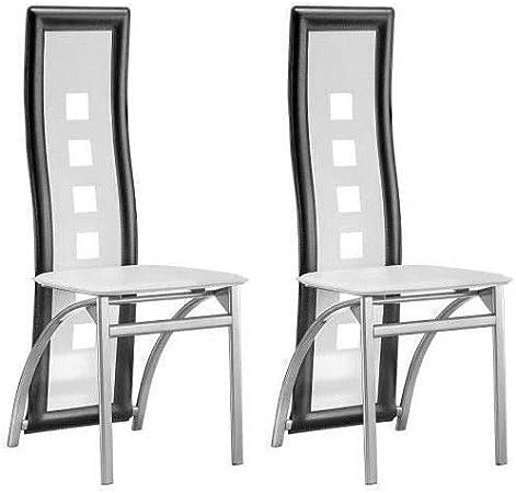 eiffel chaise blanche solide