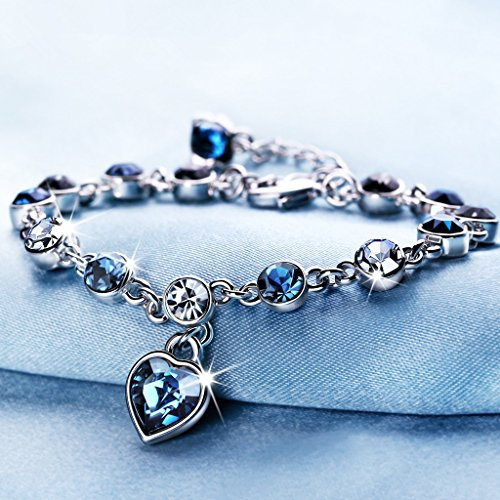 Ocean-Hearts-Love-Bracelet-Made-with-Swarovski-Crystal-Adjustable-Hand-Chain-Jewelry-Gift-for-women