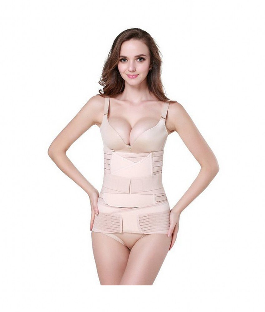 fe32116cae5bb 3 in 1 Postpartum Support - Recovery Belly waist pelvis Belt Shapewear  Waist Belts Tirain FBA-TRB020079NU