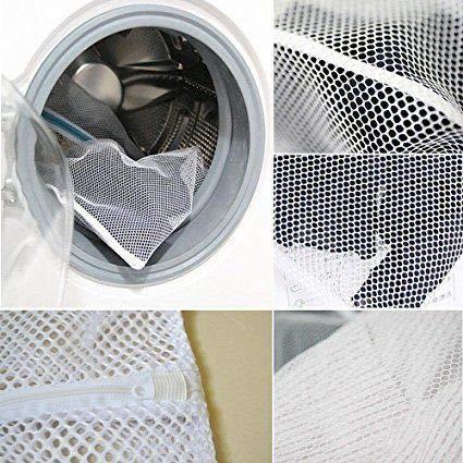 Symphony Large Laundry Bag 2Pcs Mesh Wash Bags With Drawstring for Washing Machine