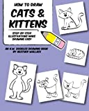 How to Draw Cats and Kittens: Step-by-Step Illustrations Make Drawing Easy (An H.W. Doodles Drawing Book)