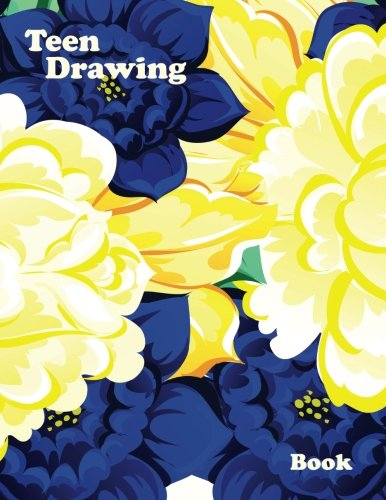 Teen Drawing Book: 8.5 X 11, 120 Unlined Blank Pages For Unguided Doodling, Drawing, Sketching & Writing