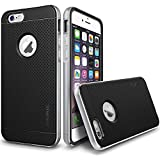 "iPhone 6 Case, Verus [Iron Shield][Satin Silver] - [Aluminum Frame][Heavy Duty][Drop Protection][Slim Fit] - For Apple iPhone 6 4.7"" Devices Only"