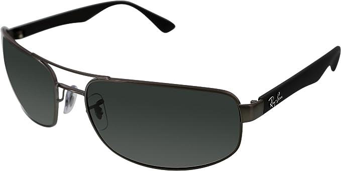 728e0ab1f5 ... promo code for ray ban rb3445 mens polarized sunglasses matte gunmetal  crystal gradient gray 64 dcfc4