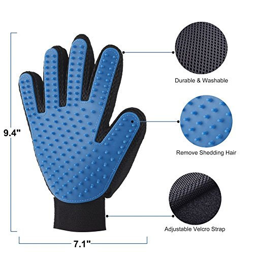 KACASUN-Deshedding-And-Grooming-Glove-For-Dogs-And-Cats-One-Pair-Gentle-And-Efficient-Pet-Hair-Removal-glove-Perfect-For-Short-Medium-And-Long-Hair-Pets