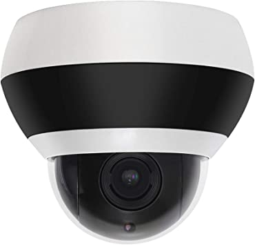 Starlight POE 4X Zoom 1080P 2MP PTZ IP Security Camera Outdoor Plug and Play
