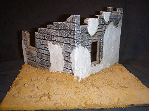 1/35 Scale - Tobruk Ruin suit WW2 North African military model by Fields of Glory (Image #1)