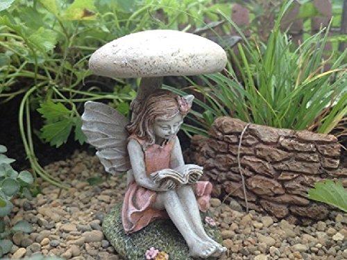 - Miniature Fairy Carrissa - Mini Dollhouse Pieces Gnome Fairy Garden Village Accessories Decoration