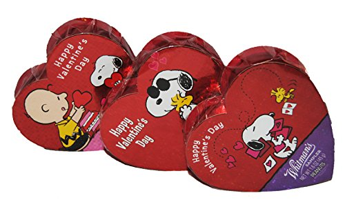 Whitman's Valentine's Day Snoopy Chocolates Sampler (3 pk)