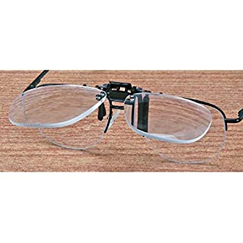 Amazon.com: 3x Jewelers Clip On Flip Up Magnifier Eyeglass