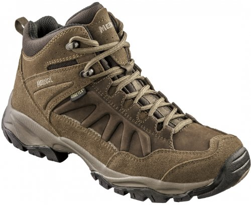 UK6 Ladies Mid GTX Hiking Shoe MEINDL Nebraska Brown q0FwRntp