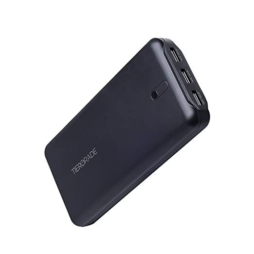7 opinioni per Tiergrade 22000mAh Caricabatterie Portatile, Multi Porta USB Batteria Esterna