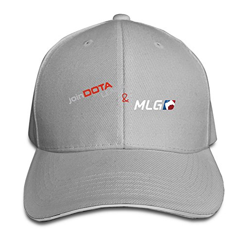 - Multiplayer Online Battle Arena Games Men Women Sandwich Cap Ash