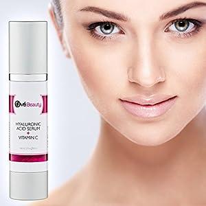 Hyaluronic Acid + Vitamin C Face Serum | Best Moisturizer to Boost Collagen & Reduce Fine Lines & Wrinkles