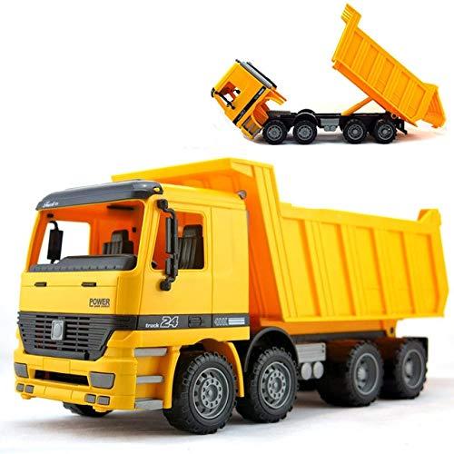 MoMoSo_Store  Jumbo Sandbox Vehicle Dump Truck , Freight Car Transport Sand Children