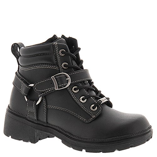 Milwaukee Motorcycle Clothing Company Womens Paragon Boots (Black, Size 7)