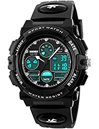 Boys Watches for Kids Age 5-13 Waterproof Sports Digital...