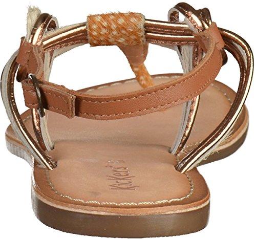 Sandale 50 femmes Kickers Marron 548722 ZvqSwnz
