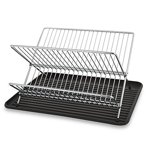 folding-dish-rack-and-drain-board-set