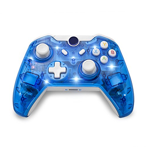 BeneGlow LED Afterglow Dual Vibration Wireless Gamepad Controller - 500 Dollar Gift