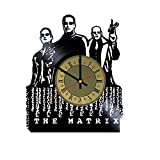 The Matrix Vinyl Wall Clock Neo Unique Gifts Living Room Home Decor