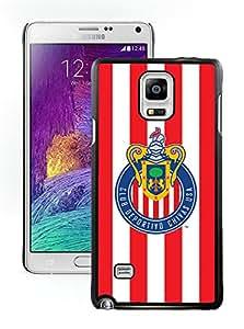Fashionable And Antiskid Designed MLS Chivas USA Samsung Galaxy Note 4 N910A N910T N910P N910V N910R4 Case Cover 04 Black