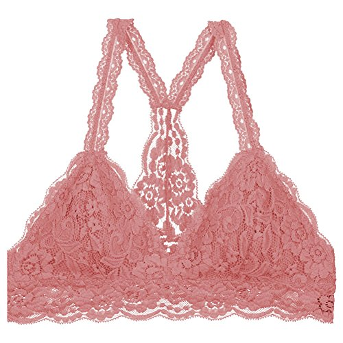 bustier-floral-lace-crop-top-bralette-sheer-sexy-cami-tank-triangle-bra-m-dusty-rose