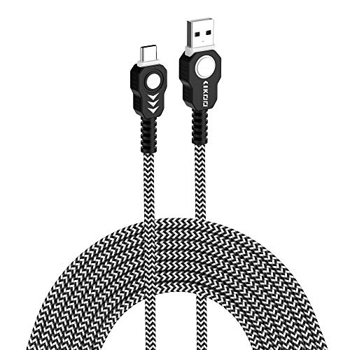 Amazon Com Usb C Cable 6ft Cikoo 2pack Heavy Duty Braided Type C
