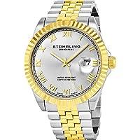 Men's 599G.04 Analog Swiss Quartz Two-Tone Link Bracelet Watch