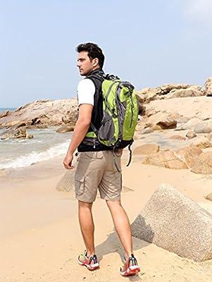 CAMEL 40L Senderismo Mochila Ligero Viaje Packable Durable ...
