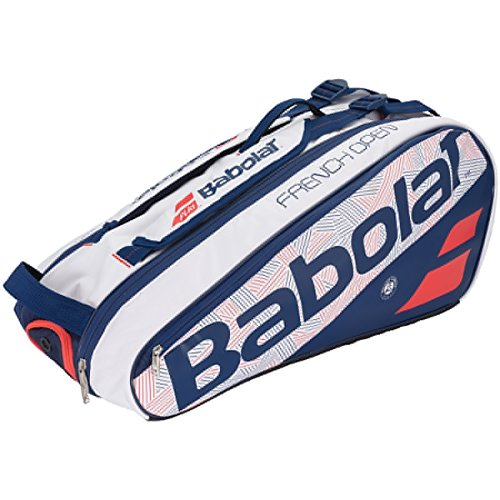 Babolat Pure French Open 6 Pack Tennis Bag White and Blue-(B751165-203) by Babolat (Image #1)