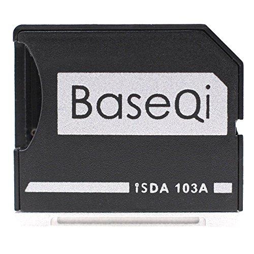BASEQI Aluminum microSD Adapter for MacBook Air