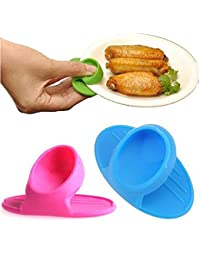 Get 1 PCS Microwave Oven Mitts Kitchen Convenient Insulated Glove Finger protect Wise Cook Tool wholesale