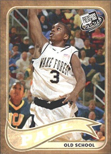 (2005 Press Pass Basketball Cards Old School #25 Chris Paul (Checklist))