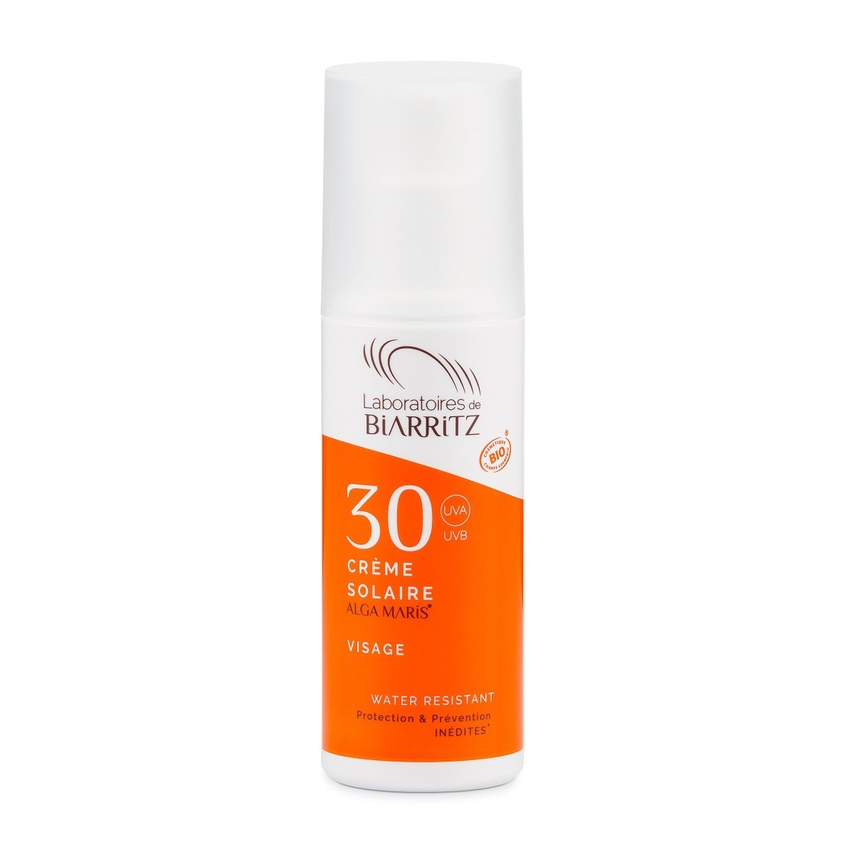 algamaris Certified Organic Sunscreen Face Cream SPF30 3760211480035