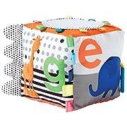 Manhattan Toy Soft Activity Cube Baby Toy