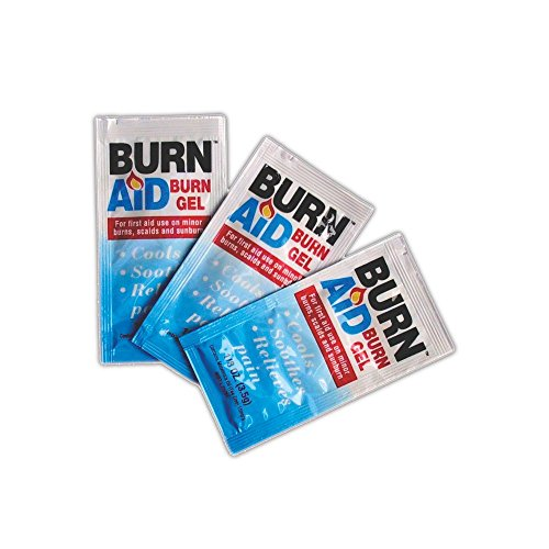 Magid Glove & Safety MP3066 Burn Aid Pain Relief Burn Treatment Gel, 3.5 g, Clear (Pack of 25) ()