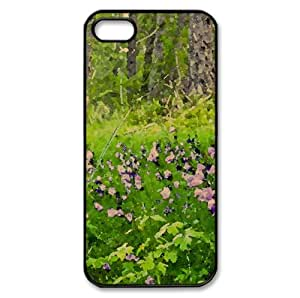 Forest Valberg - France Watercolor style Cover iPhone 5 and 5S Case (Forests Watercolor style Cover iPhone 5 and 5S Case)