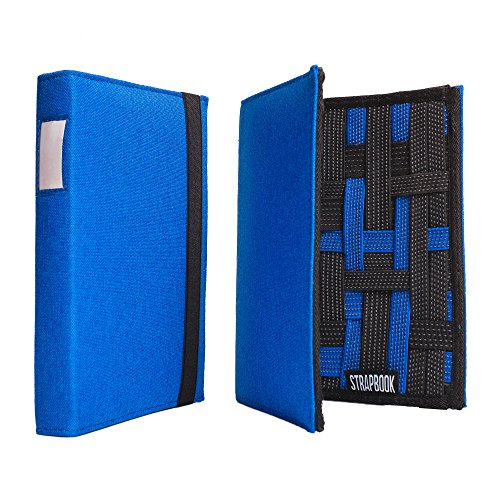 Strapbook - Multipurpose Elastic Grid Book Organizer
