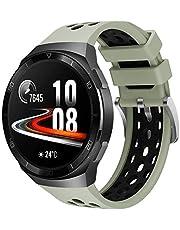 Songsier Bransoletka kompatybilna z Huawei Watch GT2e, sportowa wodoszczelna bransoletka zamienna z miękkiego silikonu, tylko do Huawei Watch GT2e