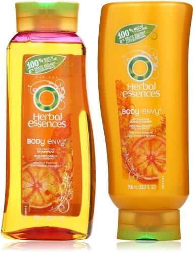 Herbal Essences Body Envy, Volumizing Shampoo & Conditioner Set, 23.7 Fl Oz Ea.