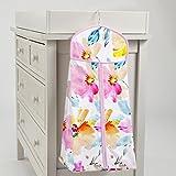 Carousel Designs Watercolor Floral Diaper Stacker
