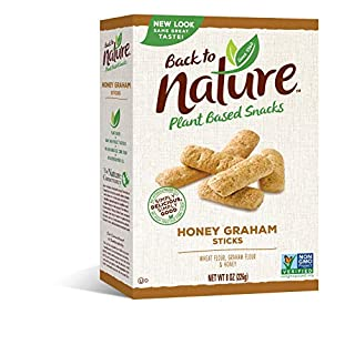 Back to Nature Cookies, Non-GMO Honey Graham Stick, 8 Ounce (Packaging May Vary)