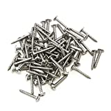 80 Piece Pan Head Screw Set For Dock Bumper Installation Marine Grade Stainless Steel 10 x 1-1/4 SS
